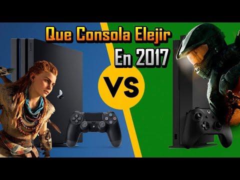 PS4 (Slim, Pro) Vs XBOX ONE (S, X), 2017 ®