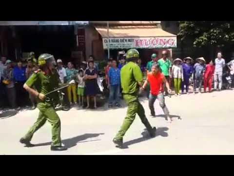 [Cực shock] Côn đồ đánh nhau với cảnh sát. | Police (Film Genre)