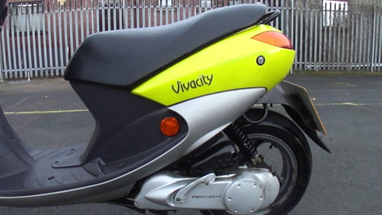 2001 peugeot vivacity 50 scooter learner moped 50mph 2. Black Bedroom Furniture Sets. Home Design Ideas