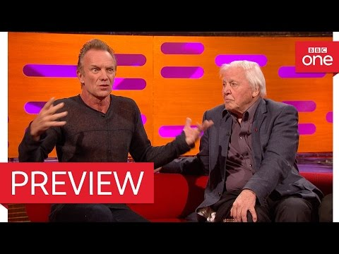 Sting got stung by a bee - The Graham Norton Show 2016: Episode 6 Preview – BBC One