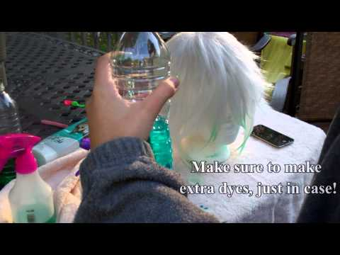 How To Dye A Cosplay Wig
