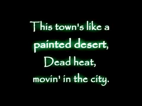 Pat Benatar - Painted desert (Lyrics on the screen)