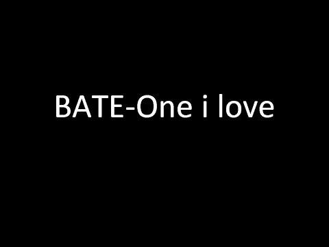 Bate-One i love (lyrics video)