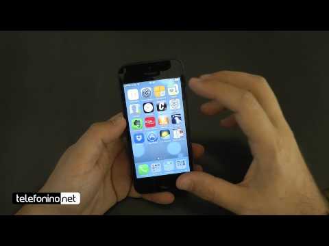 Apple iOs 7 beta 1 su iPhone 5 da Telefonino.net