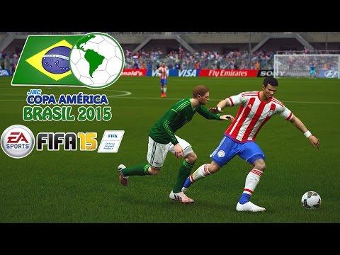 Paraguay vs. Northern Ireland | jmc Copa América 2015 | FIFA 15