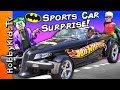 World's Biggest BATMAN HOT WHEELS Surprise Egg! Super Heroes ...