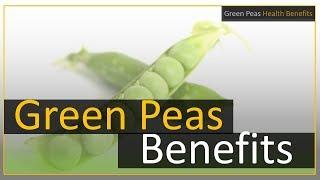 Green Peas Health Benefits