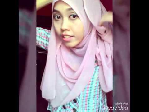 New Style 10 Tutorial Hijab Paris Segi Empat