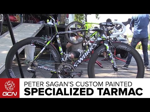 Peter Sagan's Custom Painted Specialized Tarmac | Amgen Tour Of California 2015