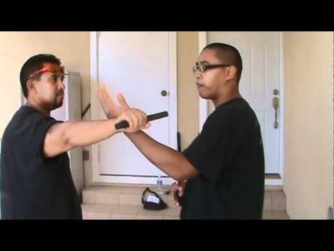 Kali Escrima Hawaii Knife Fighting - Counter Stabbing Angle #1 Cycle Image 1