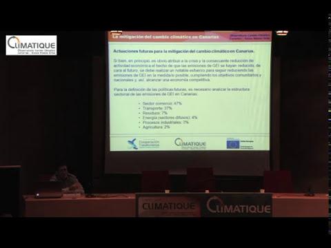 Mitigación del C.C. en Canarias