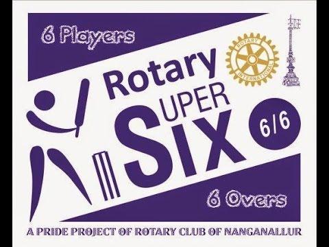 Rotary 6/6 Cricket Final Match