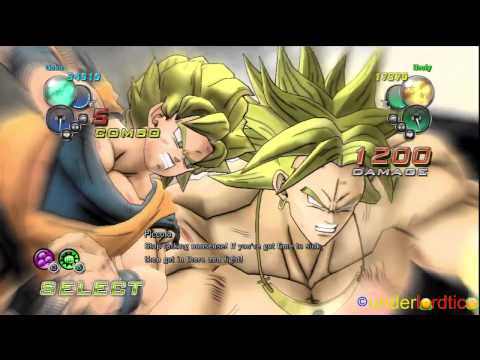 DBZ Ultimate Tenkaichi: Broly The Legendary Super Saiyajin by Underlordtico [720p]