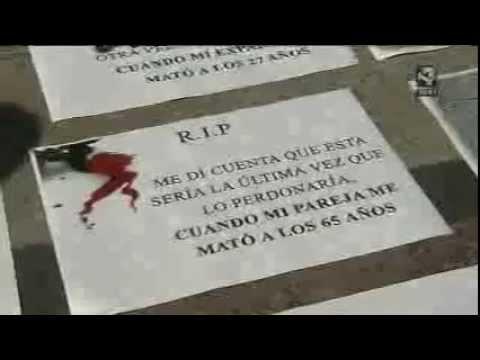 Recuerdo a las víctimas asesinadas por el terrorismo machista