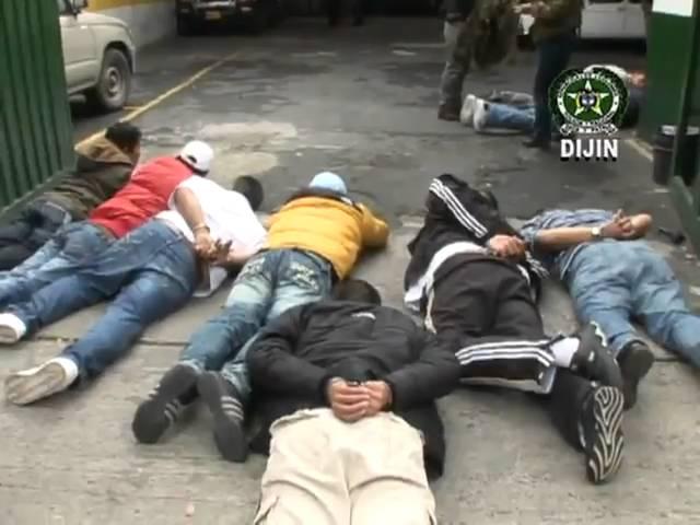 Desmantelada banda de atracadores en Bogota