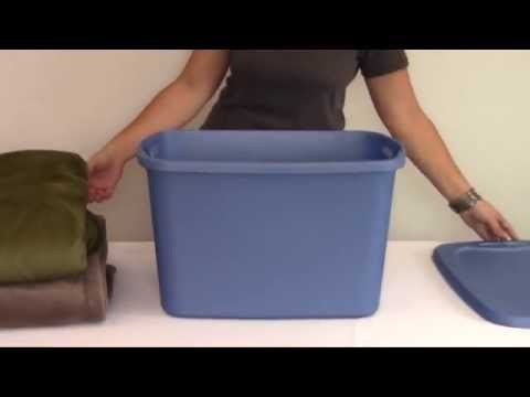 Sterilite blue 10 Gallon Tote Box