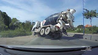 Cement Truck Fail || ViralHog