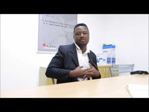 Freddy Ngalula Lorenzo é educador no CAEMI � Centro de acolhida especial para mulheres imigrantes, onde trabalha para dar apoio na integração e adaptação das recém-chegadas. No vídeo,...