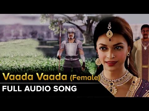 Vaada Vaada (Female) | Full Audio Song | Kochadaiiyaan | Rajinikanth, Deepika Padukone