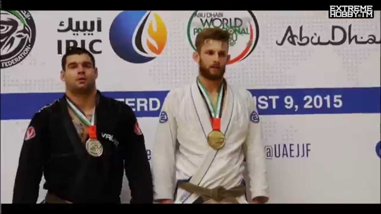 ADAM MEGATRON WARDZIŃSKI EXTREME HOBBY HOLLAND BJJ  WORLD PRO TRIALS