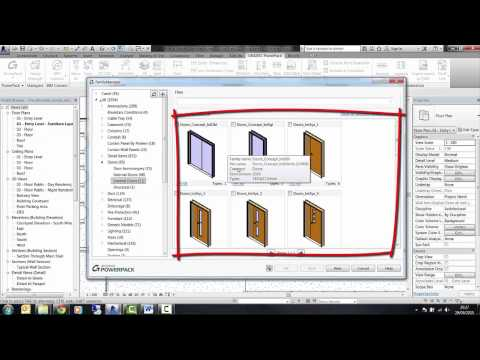 GRAITEC PowerPack for Autodesk Revit - Family Manager