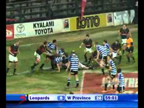 Leopards vs Western Province - Currie Cup Match Highlights 2011
