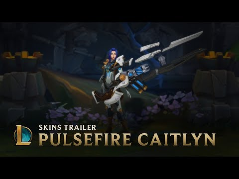 Not On Her Watch | Pulsefire Caitlyn Skin Trailer - League of Legends