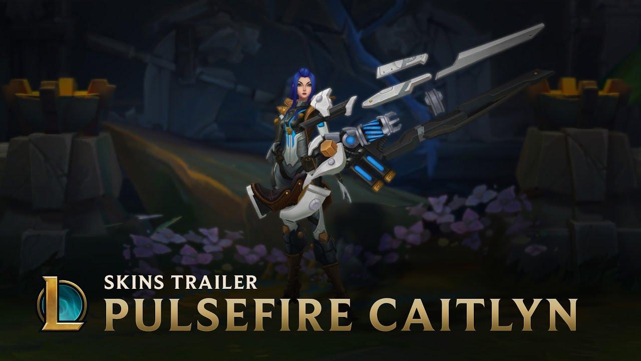Not On Her Watch | Pulsefire Caitlyn Skin Trailer - League of Legends