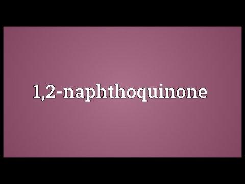 Header of 1,2-Naphthoquinone
