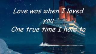 Karaoke - My heart will go on (Titanic)