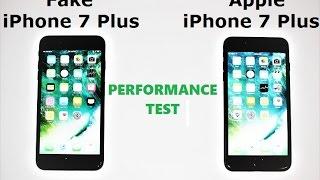 FAKE iPhone 7 Plus vs REAL Apple iPhone 7 Plus (Performance Test)
