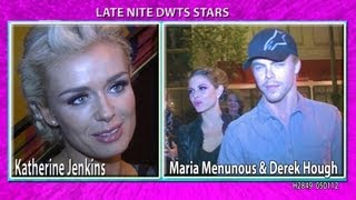 Maria Menunous & Derek Hough PERFECT! Katherine Jenkins Signs H2849