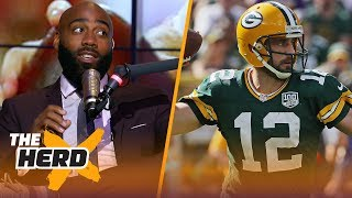 DeAngelo Hall reacts to the Browns win over the Jets, Packers vs. Redskins matchup | NFL | THE HERD