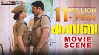 Kasaba Controversy Scene | Mammootty Police Station Scene | Neha Saxena