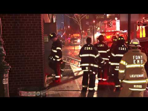 manhattan fire 12th ave & 47th street
