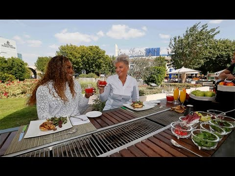 Serena Williams | Dubai Full of Surprises Travel Show | Dubai Duty Free 2014