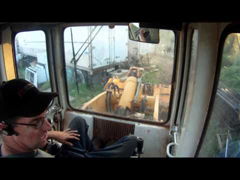 Liebherr 621C Crawler Loader - How Operator Controls Work (HD)