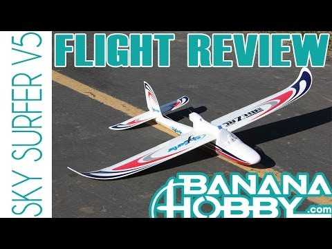 Sky Surfer V5 BlitzRCWorks | Flight Review | Sailplane & Glider