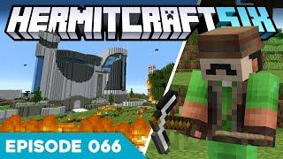 Hermitcraft VI 066 | THE WAR HAS BEGUN! ⚔️ | A Minecraft Let's Play