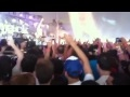 Afrojack kickstarts the crowd, Electric Zoo 2010