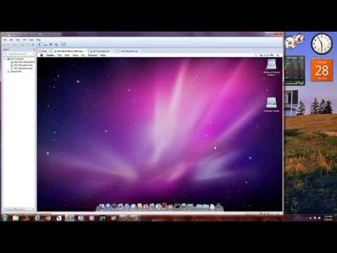 Install OS X 10.8 Mountain Lion in VMware in Windows