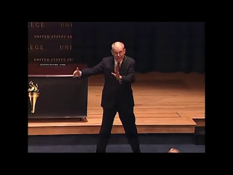 2013 Strategy Conference Keynote- John Mearsheimer, University of Chicago