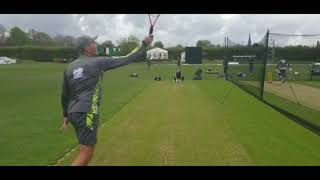 Pak world cup squad 2nd day training in England