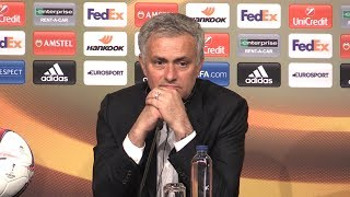 Jose Mourinho Full Press Conference After Manchester United Win The Europa League