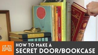 How to make a secret door / bookcase