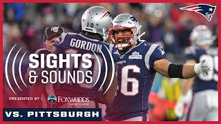 Sights & Sounds | Steelers vs. Patriots