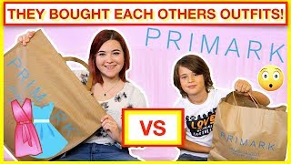 THEY BOUGHT EACH OTHERS OUTFITS! 👗👚KID vs TEEN 👖PRIMARK HAUL