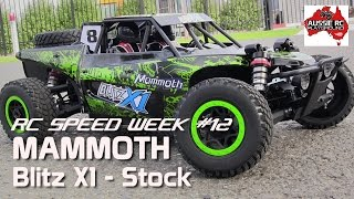 RC Speed Week #12 Mammoth Blitz X1 Desert Buggy