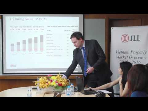 JLL Press Conference – Vietnam Property Market Overview 2015-2016