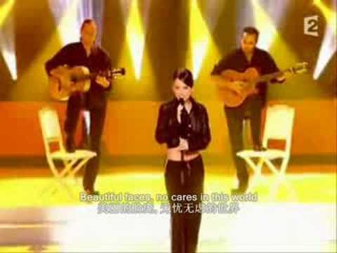 法国美女 Alizee -  La Isla Bonita 中英文字幕 超级好听 高清晰 video